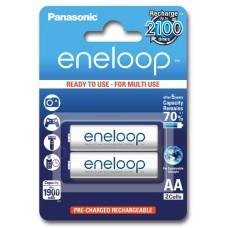 Аккумуляторы Panasonic Eneloop AA 2000 mAh (min.1900mah), 2 шт./уп. | УЦЕНКА