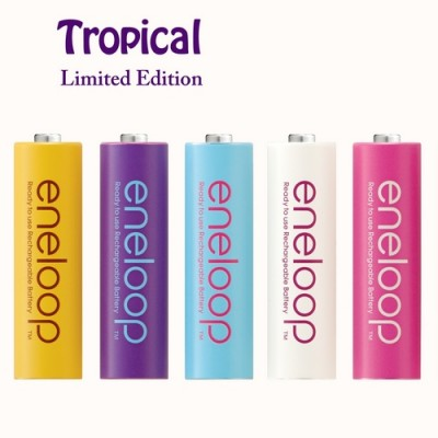 Аккумулятор АА Sanyo Eneloop 2000 mAh Tropical Limited Edition