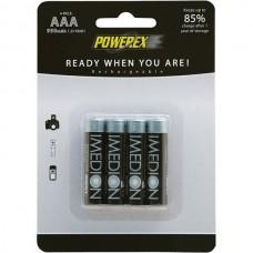 Аккумуляторы Powerex Imedion AAA 950 mAh, 4 шт./уп.
