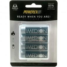 Аккумуляторы Powerex Imedion AA 2400 mAh, 4 шт./уп.