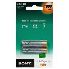 Аккумуляторы Sony AAA 1000 mAh 2 шт./уп.