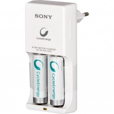 Зарядное Sony Compact Charger + 2 шт. AA 1000 mAh