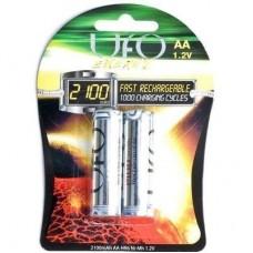 Аккумуляторы UFO AA 2100 mAh Ni-Mh (1 шт.)