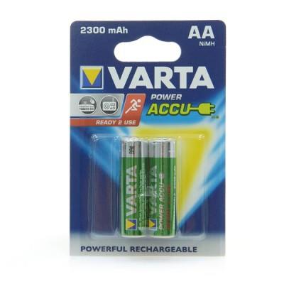 Аккумуляторы Varta Power Accu AA 2300 mAh Ni-Mh (2 шт. в блистере) | 56726101402