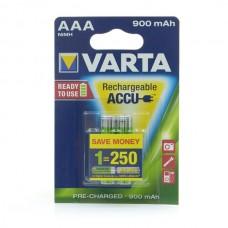 Аккумуляторы Varta Power Accu AAA 900 mAh Ni-Mh (2 шт. в блистере)