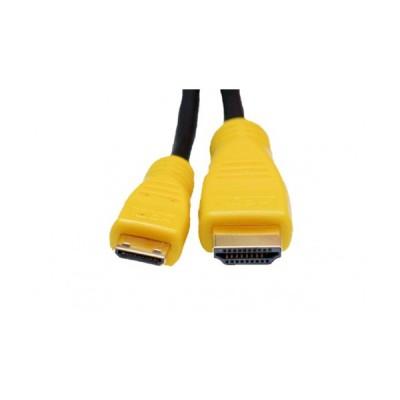 EXTRADIGITAL Видео кабель Mini HDMI to HDMI, 2m, позолоченные коннекторы, 1.3V