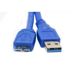 Extradigital кабель USB 3.0 AM – Micro USB Тип B 0,1м