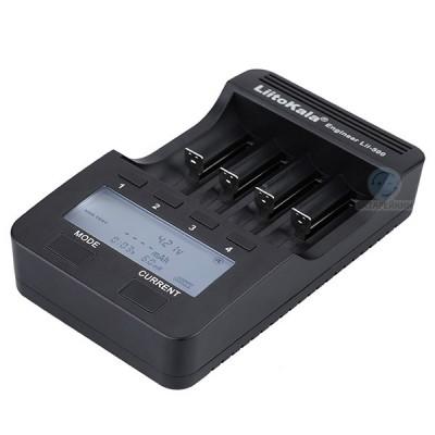 Универсальное зарядное устройство Liitokala Lii-500 для Li-Ion и Ni-MH / Ni-Cd аккумуляторов (с функцией Power Bank)