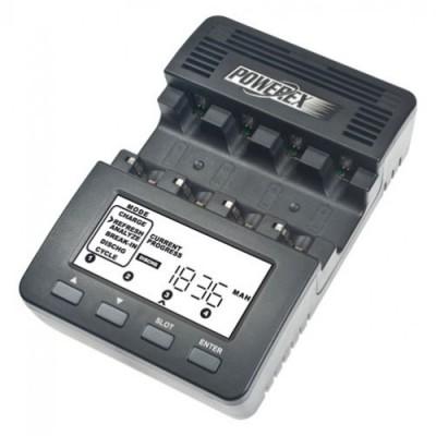 Powerex MH-C9000 - интеллектуальное зарядное устройство, анализатор для Ni-MH/Ni-Cd аккумуляторов