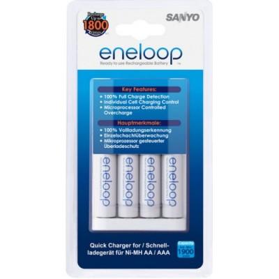 Зарядное устройство Sanyo MQR06 + 4 AA аккумулятора Sanyo Eneloop