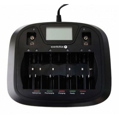 Зарядное устройство EverActive NC-900U для аккумуляторов Ni-Mh/Ni-Cd размера АА/ААА/С/D/КРОНА