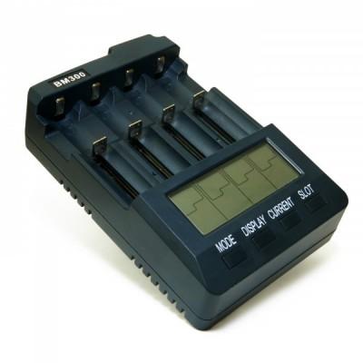 Универсальное зарядное устройство EXTRADIGITAL BM300 v2.2 для Ni-Cd / Ni-MH и Li-Ion аккумуляторов