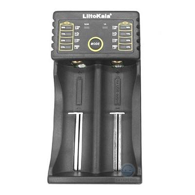 Универсальное зарядное устройство Liitokala Lii-202 для Li-Ion / LiFePO4  и Ni-MH / Ni-Cd аккумуляторов (с функцией Power Bank)