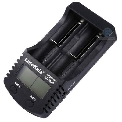 Универсальное зарядное устройство Liitokala Lii-300 для Li-Ion и Ni-MH / Ni-Cd аккумуляторов (с функцией Power Bank)