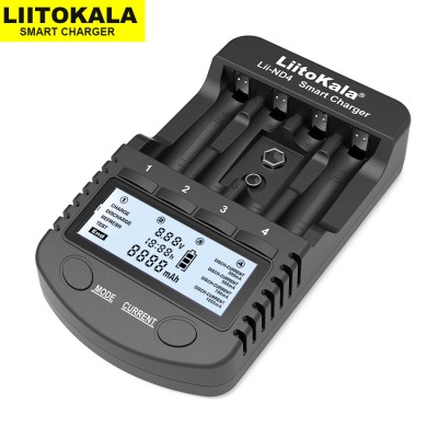 Зарядное LiitoKala Lii-ND4 для АА/ААА/КРОНА