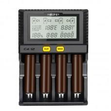 Зарядное Miboxer C4-12 v2.2 для Li-ion/LiFePO4/Ni-Mh
