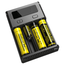 Зарядное Nitecore Intellicharger i4 NEW для Li-ion/LiFePO4 и Ni-Mh/Ni-Cd