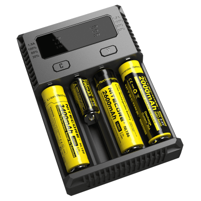 Зарядное устройство Nitecore Intellicharger i4 NEW для Li-ion/LiFePO4 и Ni-Mh/Ni-Cd