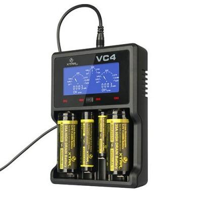 Зарядное устройство Xtar VC4 для Li-Ion/Ni-Mh/Ni-Cd аккумуляторов.