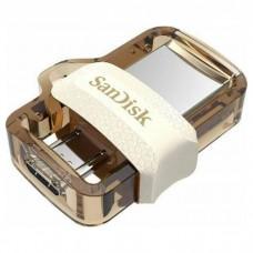 Флешка SanDisk 64GB USB 3.0 Ultra Dual Drive m3.0 OTG White-Gold