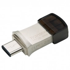 Флешка Transcend 16GB USB 3.1+Type-C 890 R90/W15MB/s