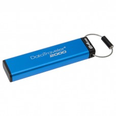 Флешка Kingston 64GB USB 3.0 DT 2000 Metal Security