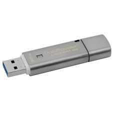 Флешка Kingston 32GB USB 3.0 DT Locker+ G3 Metal Silver Security