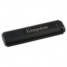 Флешка Kingston 64GB USB 3.0 DT 4000 G2 Metal Black Security