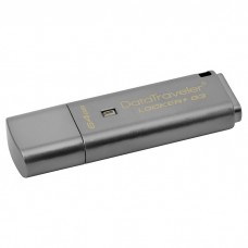 Флешка Kingston 64GB USB 3.0 DT Locker+ G3 Metal Silver Security