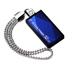 Флешка Silicon Power 32GB USB Touch 810 Blue