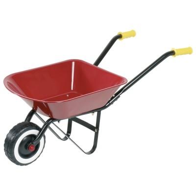 Игровая садовая тележка goki красная 14059G