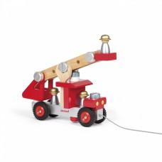 Игровой набор Janod Пожарная машина с инструментами J06498
