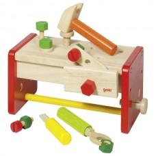 Игровой набор goki Ящик с инструментами 58871