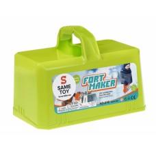 Игровой набор Same Toy 2 в 1 Fort Maker зеленый 618Ut-1