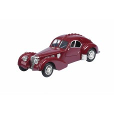 Автомобиль 1:28 Same Toy Vintage Car Бордовый HY62-2AUt-4