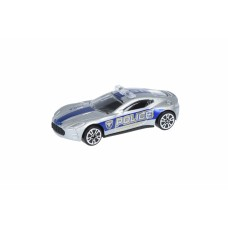 Машинка Same Toy Model Car Полиция серая SQ80992-But-6