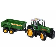 Машинка Same Toy Tractor Трактор с прицепом R975-1Ut