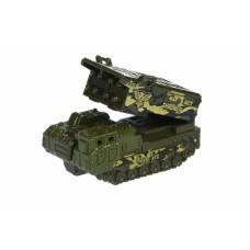 Машинка Same Toy Model Car Армия Ракетная установка в коробке SQ80992-8Ut-3