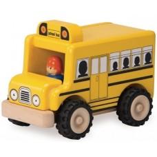 Машинка Wonderworld CITY Школьный автобус WW-4047