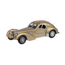 Автомобиль 1:28 Same Toy Vintage Car со светом и звуком Золотой HY62-2Ut-6