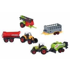 Машинка Same Toy Farm Трактор с прицепом SQ90222-3Ut