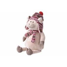 Мягкая игрушка Same Toy Свинка в шапке 48см THT719