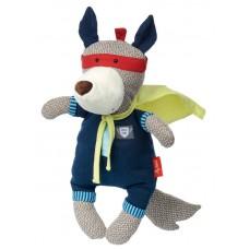 Мягкая игрушка sigikid Papa&Me Волк супергерой 35 см 38697SK