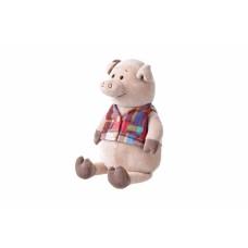 Мягкая игрушка Same Toy Свинка в жилетке 35см THT723