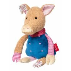 Мягкая игрушка sigikid Patchwork Sweety Свинка 31 см 38708SK