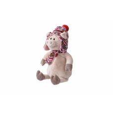 Мягкая игрушка Same Toy Свинка в шапке 30см THT721