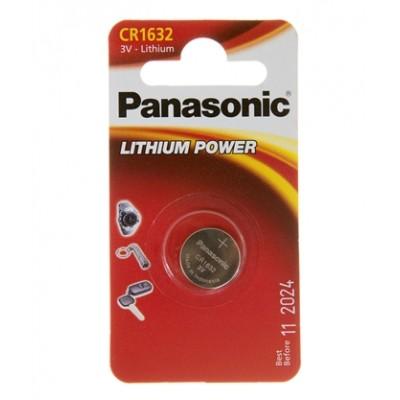 Батарейка Panasonic CR 1632 Lithium Power 3V (CR-1632EL/1B)