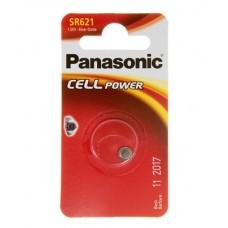 Батарейка Panasonic SR 621 Silver Oxide 1.55V (SR-621EL/1B)