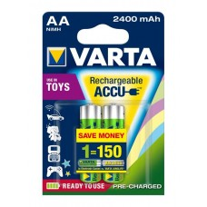 Аккумулятор VARTA TOYS ACCU AA 2400mAh, 2 шт./уп. (56786101402)