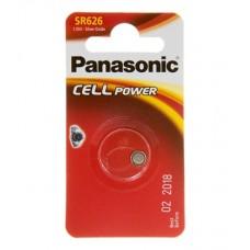 Батарейка Panasonic SR 626 Silver Oxide 1.55V (SR-626EL/1B)